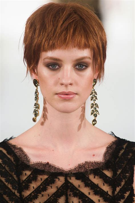 runway inspired stylish short hairstyles for fall 2014