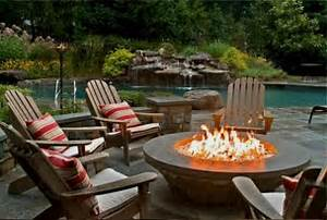 Extraordinary Patio With Fire Pit Concept For Big House Homesfeed