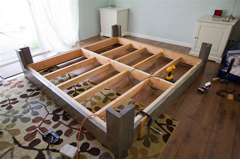 diy bed frame plans