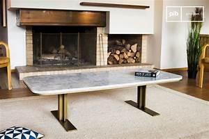 Table Basse Marbre But : table basse carrera l 39 alliance marbre et laiton pib ~ Teatrodelosmanantiales.com Idées de Décoration
