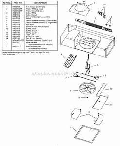 Broan Ql130ww Parts List And Diagram   Ereplacementparts Com