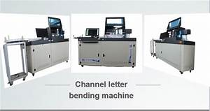 letter channel letter bending machineacrylic luminous With channel letter machine
