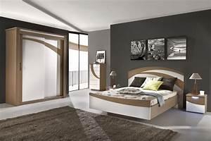 Meuble Chambre Adulte : meuble chambre a coucher contemporain ~ Dode.kayakingforconservation.com Idées de Décoration