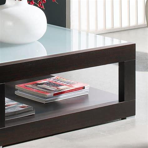 table basse carr 233 e bois et verre mobilier