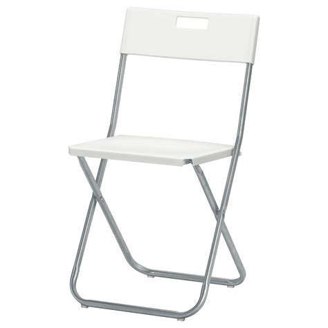 table for 6 chairs gunde folding chair white ikea