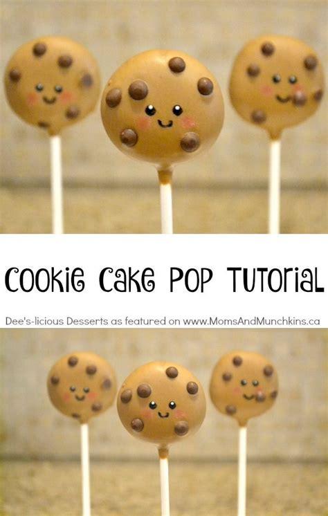 cookie cake pops party treat tutorial cake pop tutorial