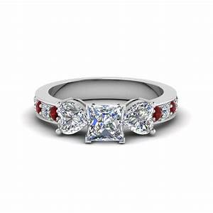 Get great deals on three stone ruby engagement rings for Wedding rings with rubies and diamonds