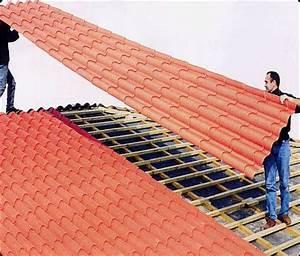 Tuile Pour Toiture : la tuile m tallique romasteel une toiture innovante ~ Premium-room.com Idées de Décoration