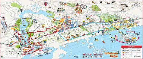 Carte Du Monde Gold A Imprimer by Plan Et Carte Touristique De Duba 239 Monuments Et Circuits