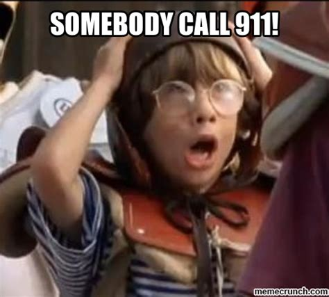 Somebody Call 911