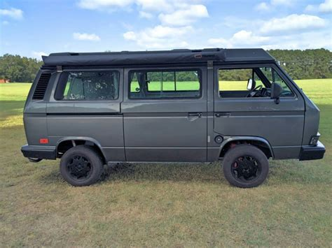 volkswagen vanagon 1987 vw vanagon westfalia cer
