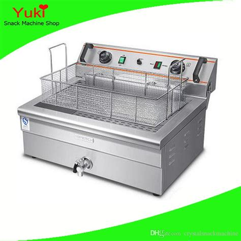 commercial frying fryer machine donut chicken deep potato dough electric 20l chinese stick fryers larger