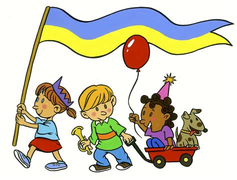Parade Clipart Child Clipart Parade Pencil And In Color Child Clipart
