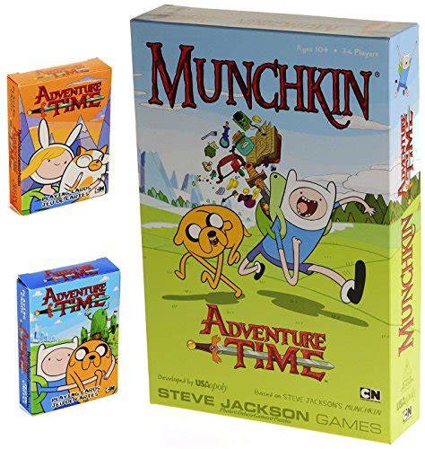 munchkin adventure time game bonus  decks full color