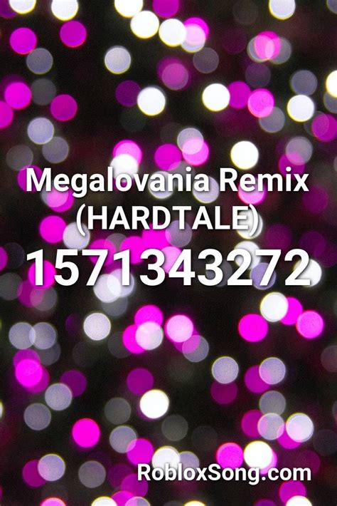 megalovania remix hardtale roblox id roblox  codes   roblox horror  songs