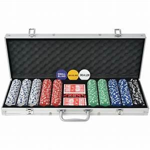 Poker Set Kaufen : vidaxl poker set mit 500 chips aluminium g nstig kaufen ~ Eleganceandgraceweddings.com Haus und Dekorationen