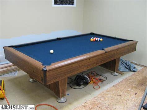 slate pool tables for sale armslist for sale trade kasson slate pool table