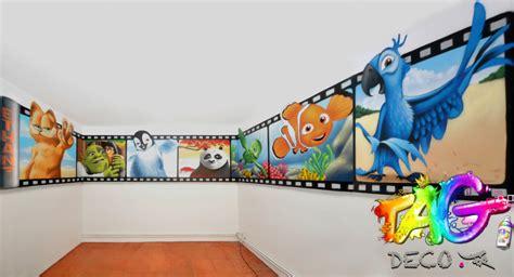 graffiti chambre ado decoration chambre ado graffiti visuel 4