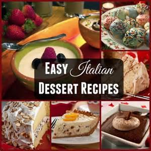 italian dessert recipes mrfood