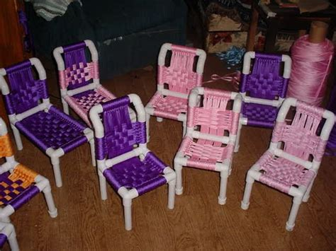 build   pvc lounge chair american doll furniture