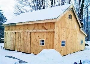 20x30 barn post and beam barn kits jamaica cottage shop With 20x30 garage kits