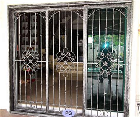 wrought iron swing sliding and folding door gates
