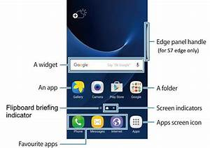 Galaxy S7 Home Screen