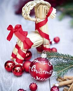 Weihnachtsdeko Selber Basteln Naturmaterialien : bild 12 weihnachtsdeko selber machen aus etwas stroh wird ein pferd ~ Yasmunasinghe.com Haus und Dekorationen
