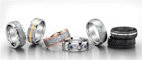 titanium rings  jewelry unique mens wedding bands