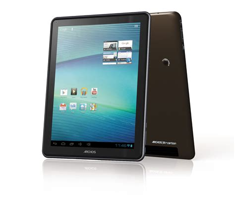 android tablet archos 97 carbon elements android tablet pc advisor
