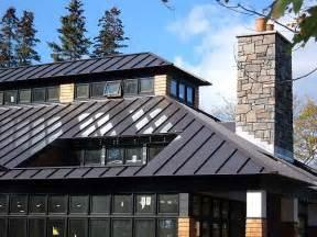 Dark Bronze Standing Seam Metal Roof