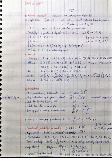 probability and statistics quot cheatsheet quot