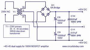 800 Watt Audio Amplifier Circuit With Mosfet Hp Photosmart