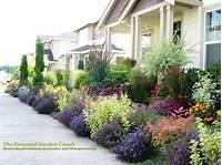 front yard garden ideas Gardens: Entry Gardens on Pinterest   Front Yards ...