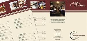 free menu templates for mac milviamaglionecom With restaurant menu templates for mac