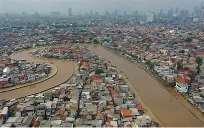 Jakarta Floods Flood Indonesia Indonesian River Landslides