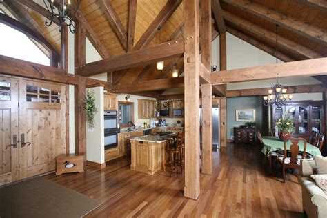 interior timber frame homes photo gallery blue ox timber frames