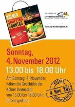 Verkaufsoffener Sonntag Köln : verkaufsoffener sonntag in der k lner city ~ Buech-reservation.com Haus und Dekorationen