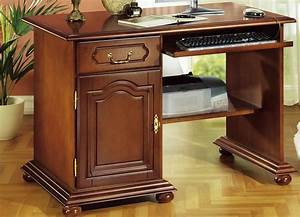 Schreibtisch Mit Druckerfach : computer schreibtisch b rom bel bader ~ Michelbontemps.com Haus und Dekorationen