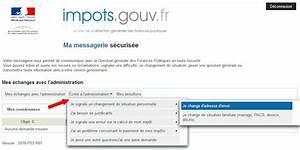 Modèle Changement D Adresse : imp t et changement d 39 adresse changement adresse impot ~ Gottalentnigeria.com Avis de Voitures