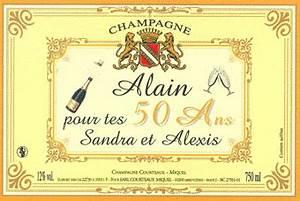 Etiquette Champagne Mariage : champagne courteaux champagne ~ Teatrodelosmanantiales.com Idées de Décoration