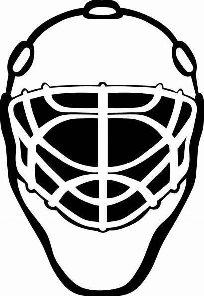 Clipart Mask Simple Transparent Webstockreview Lacrosse Goalie