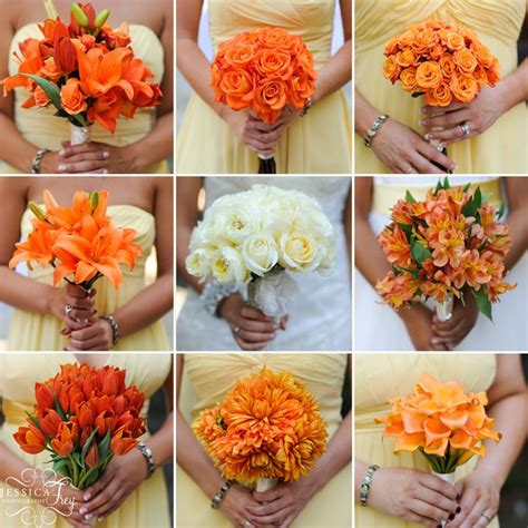 What A Great Idea Bridesmaids Bouquets Of Different