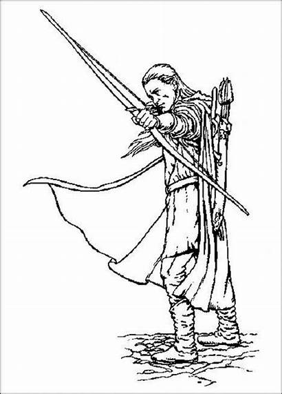 Coloring Hobbit Pages Printable