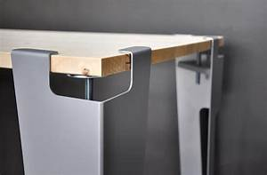 Pieds De Table : pieds de table design modulables et nomades by avec ceci ~ Teatrodelosmanantiales.com Idées de Décoration