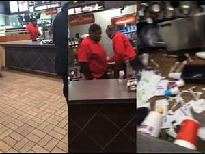 McDonald's Worker EPIC Meltdown - YouTube