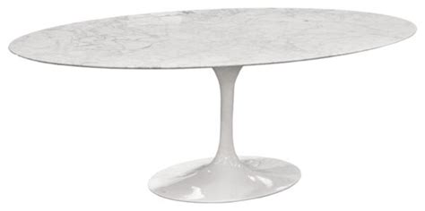 eero saarinen oval tulip table cararra marble  rove