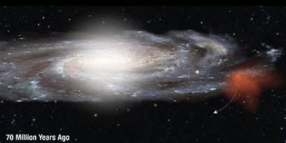 Milky Way Cloud Smith Animation Galaxy Space