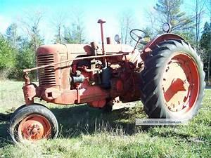 1942 ? Case Sc Vintage Tractor