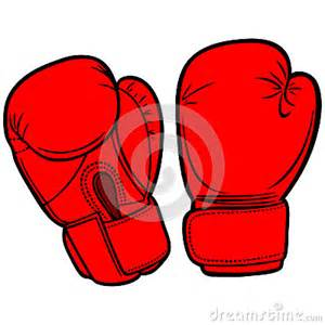 Cartoon with Boxing Gloves